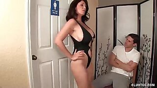 Young college starting jerking off her instructor - 6:06
