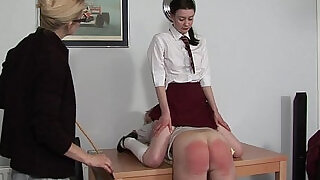 24:00: he gets a spanking infront of his niece