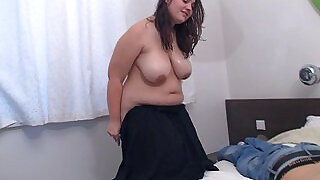 Chubby bbw doggystyled after massage - 6:00