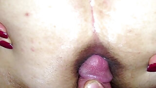 cuming on wide open wifes asshole at xxx sexy porn