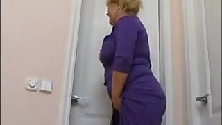 13:00: plump mom with big saggy tits and guy