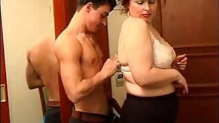 18:00: BBW Mature Woman and Younger Boy