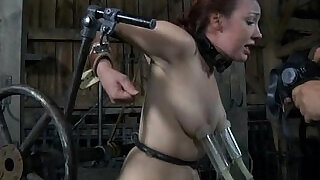 5:00: BDSM Slave Mia Electro and Torments