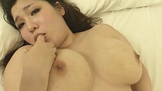 Plump and busty babe Yume Sazanami finger fucked pussy pounded at xxx sexy porn