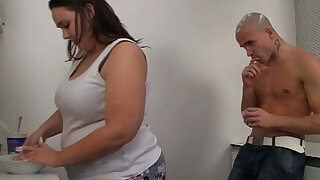 Fat chick and her dude on cam with cream and fuck at xxx sexy porn