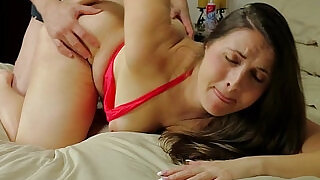 6:00: Big ass milf madisin lee fucked deep and hard doggystyle by stepson