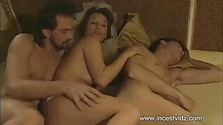 Mom tries to entice her son into threesome with her boyfriend - 13:00