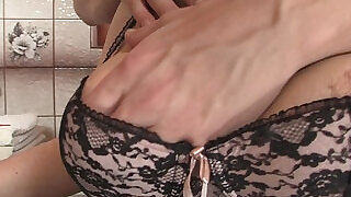 6:00: Girlfriends hot mom inlaw takes it from behind