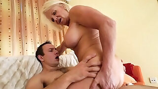 Juggs granny jizz mouthed - 6:00