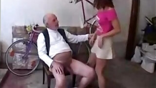 18 Year Old banged by Old Man - 17:00