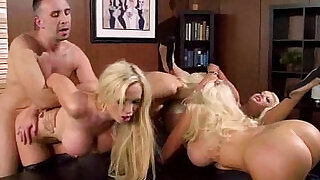 Hard Sex In Office On Tape With their Sexy Big Boobs Girl courtney nikki nina summer - 5:00