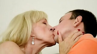 6:00: Euro grandma banged hard and jizzed in mouth