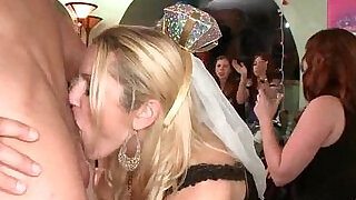 Dancingcock The Bride To Be Gets Naughty. - 6:00