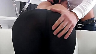 34:00: BUTT PORN movie WITH SEXY RUSSIAN TEEN IN TIGHT LEGGINGS