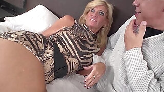Sexy blonde gets ass fucked Black hard long Cock Amateur Video - 6:00
