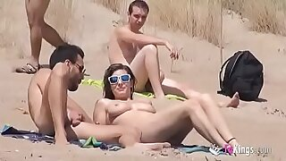 33:12: Real Sexy Guys Naked on the Beach