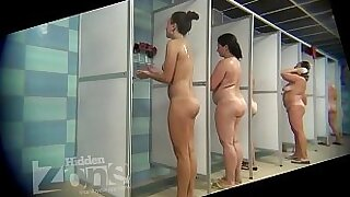Nicole Heat does partnered sex in the shower Birthday Trying A Stranger - 3:32