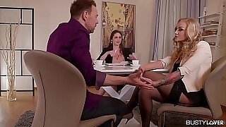 Cathy Heaven Busty For her first Date - 52:58