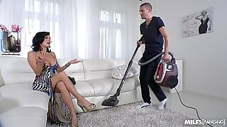 31:53: Squirting MILF movies and hot married guy sucking dick