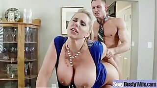 5:57: Bound Wife Loves It real Hardcore