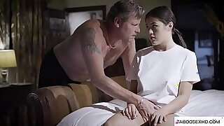 Sexy Tiny Stepdaughter Forced By Black BBC - 6:13
